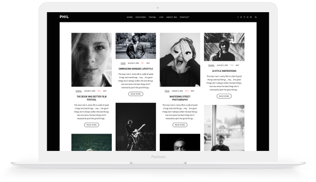 pixelwars wordpress themes