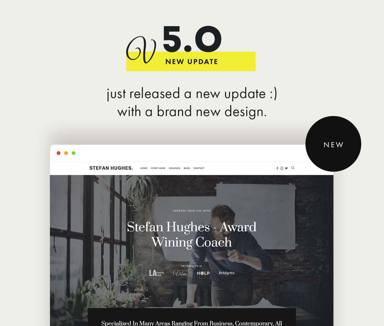 Efor - Coaching & Online Courses WordPress Theme Download
